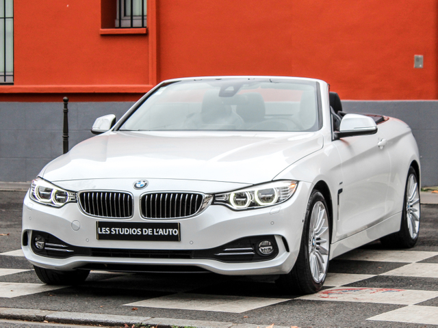 BMW Serie 4 Cabriolet I (F33) 420dA 190ch Luxury