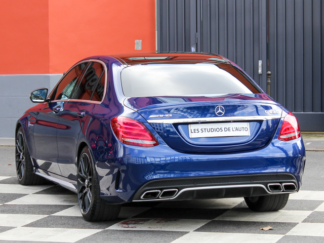 Mercedes-Benz Classe C IV (W205) 63 AMG S Speedshift MCT AMG
